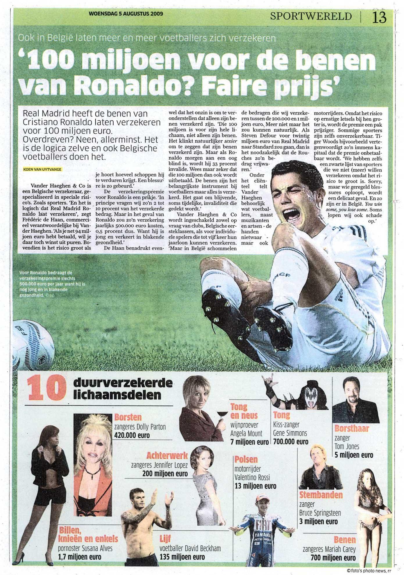 Nieuwsblad Sportwereld