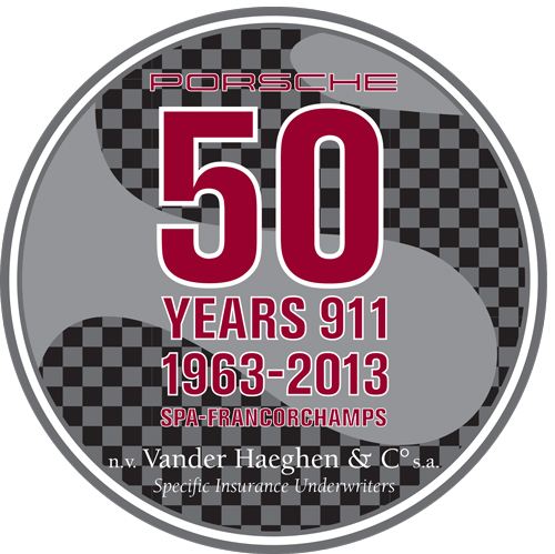 Sticker 50 Years 911