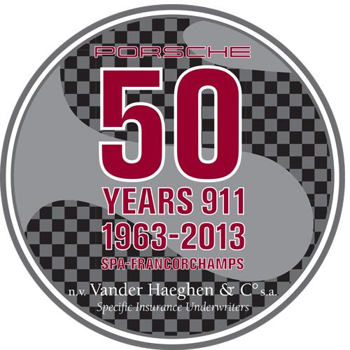 Autocollant 50 Years 911
