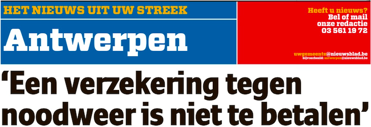 Artikel – Nieuwsblad