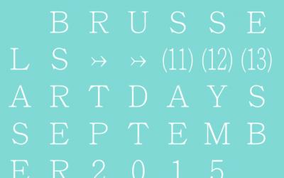 Brussels Art Days 2015
