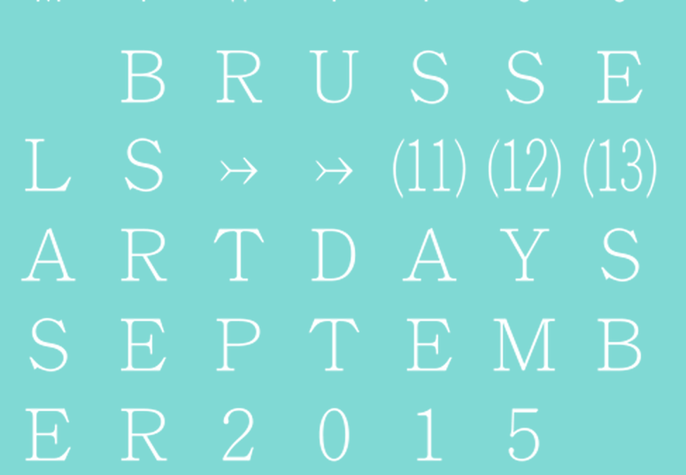 Brussels Art Days 2015