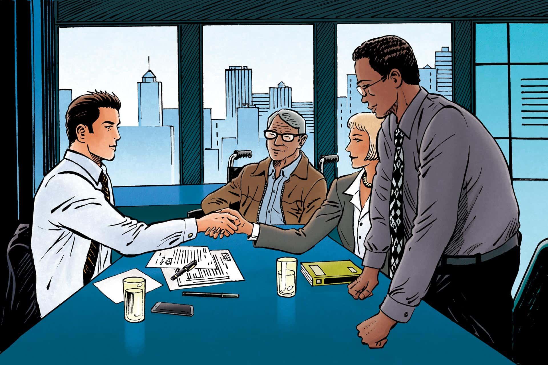 Business is Business – Invaliditeitsdekking